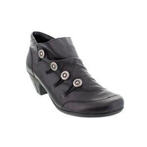 REMONTE Dorndorf black heeled shoe ankle booties
